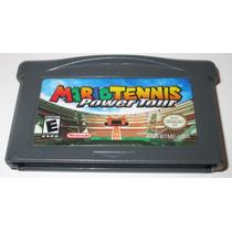 Gba: Mario Tennis Power Tour Original Americano!! Jogaço!!