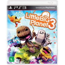 Jogo Novo Lacrado Little Big Planet 3 Para Playstation 3 Ps3