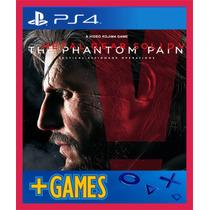 Metal Gear Solid V The Phantom Pain - Ps4 - Original 1