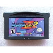 Gba: Megaman Zero 2 Original Americano! Raríssimo! Jogaço!