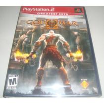 Play 2: God Of War 2 L A C R A D O!! Rigorosamente Sem Uso!!