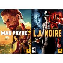 Max Payne 3 + La Noire Ps3 Código Psn Envio Imediato