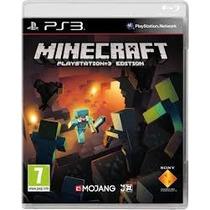 Minecraft Playstation 3 Edition Jogo Novo Lacrado Original