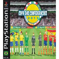 Patch Copa Das Confederações 2013 Ps1 + Frete Gratis
