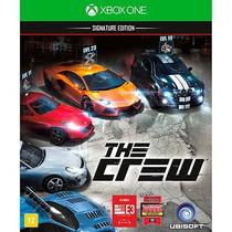 Jogo De Corrida Lacrado Midia Fisica The Crew Pra Xbox One