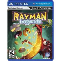 Rayman Legends - Ps Vita Psvita Orignal Lacrado E-sedex 6,07