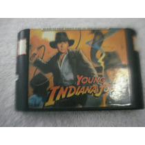 Jogo De Mega Drive Young Indiana Jones Instruments Of Chaos
