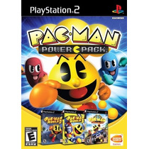 Pac Man Power Pack Original Lacrado Box Com 3 Jogos Ps2 6597