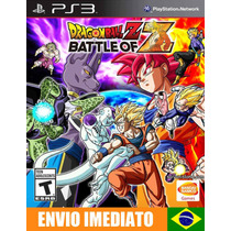 Dragon Ball Z Battle Of Z - Ps3 - Psn - Legenda Em Português