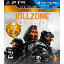 Killzone Trilogy Collection Hd - Ps3 - Frete 10,00