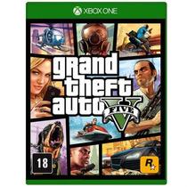 Gta V Xbox One Midia Fisica Lacrado Grand Theft Auto 5