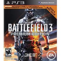 Battlefield 3 Premium Edition Ps3 - Midia Digital Receba Hj