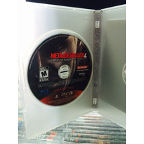 Jogo Metal Gear Solid 4 Playstation 3, Original, Semi-novo