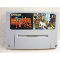 Final Fight 1 Para Original Super Nintendo Capcom