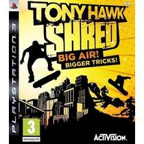 Ps3 Tony Hawk Shred Lacrado Mídia Física