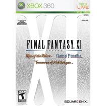 Jogo Para Xbox 360 - Final Fantasy Xi -original