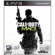 Cod Mw3 Call Of Duty Modern Warfare 3 Ps3