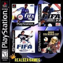 Coletanea 4 Jogos Futebol- Fifa Play1 Pra Jogar No Pc