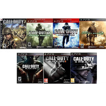 Novo Combo Call Of Duty Todos Menos Mw3 E Aw Playstation 3