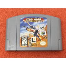 Cartucho Star Wars Rogue Squadron Nintendo 64 N64 Original