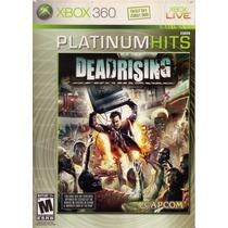 Jogo Dead Rising Paltinum Hits Original Para Xbox 360 A5424