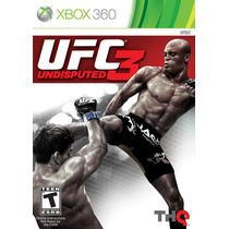 Lacrado Ufc 3 Português Undisputed Ultimate Fighting Xbox360