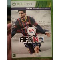 Jogo Fifa 14 2014 Original Para Xbox 360 Usado Menor Preço