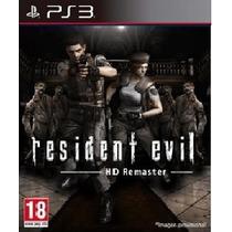 Resident Evil Hd Remaster Ps3 - Midia Digital Pré-venda