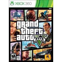 Gta V Xbox 360 Original Lacrado Mídia Física