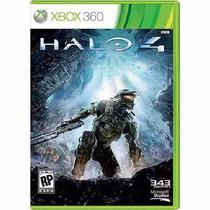 Halo 4 - Xbox 360 - Novo Original Lacrado - 100% Português.