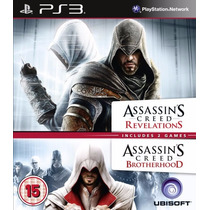 Assassins Revelations + Brotherhood Ps3 Psn - Midia Digital