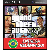 Gta Grand Theft Auto V 5 Ps3 Código Psn Original Garantia!