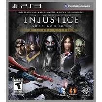 Injustice Ultimate Edition - Audio Portugues
