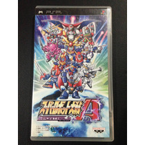 Super Robot Wars A (jap) Playstation Portable Psp Frete R$7