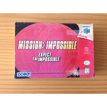 Mission Impossible Completo Para Nintendo 64