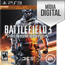 Battlefield 3 Premiun Edition Ps3 - Psn Envio Na Hora