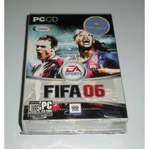 Fifa 06 Caixa   Futebol   Esporte   Jogo Pc   Original