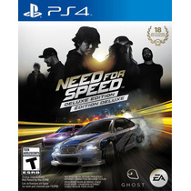 Need For Speed Edição Deluxe - Ps4 - Conta Secundária