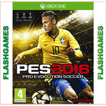 Pes 16 Xbox One Pro Evolution Soccer 2016 Pt Br Mídia Física