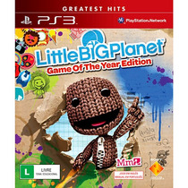 Jogo Little Big Planet Ps3 Midia Fisica Lacrado Nota Fiscal