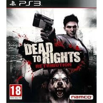 Ps3 * Dead To Rights Retribution * Usado * No Rj