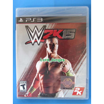 Wwe 2k15 2015 - Ps3 - Lacrado - Pronta Entrega.