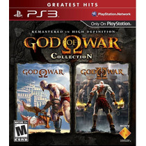 Ps3-jogo God Of War Collection 1 E 2 Em Alta Definição Ps3