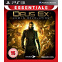 Deus Ex Human Revolution Essentials Frete Grátis Sdgames Ps3