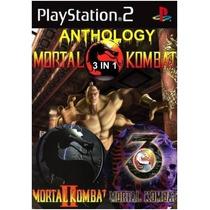 Patch Mortal Kombat Clássicos Ps2 - Frete Grátis