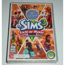 The Sims 3 Volta Ao Mundo | Jogo Pc E Mac | Produto Original