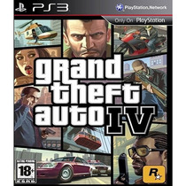 Gta Iv - Gta 4 - Grand Theft Auto - Ps3 - Código Psn