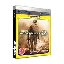 Promoção!!jogo Call Of Duty Modern Warfare 2 Platinum P/ Ps3