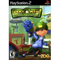 Jogo Ps2 - Game Original - Ntcs-uc - Army Men Soldier
