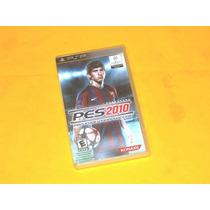 Pes 2010 - Sony Psp (somente A Case)